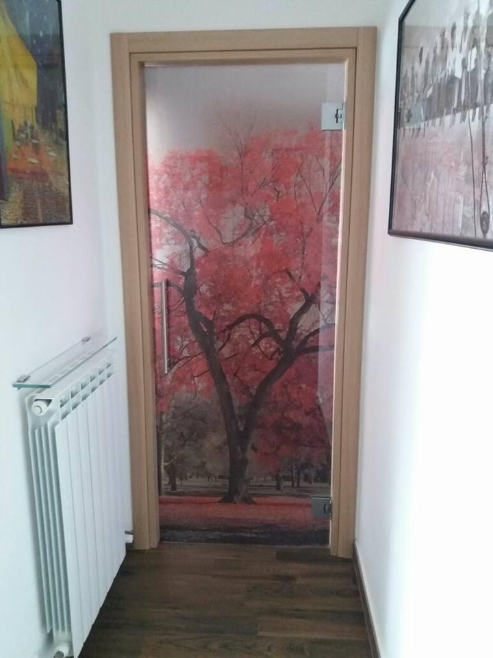 Porte in vetro decorate come opere d arte - Porte a vetro decorate ...