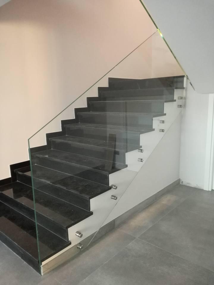 Ringhiera scorrimano scale... La bellezza del vetro